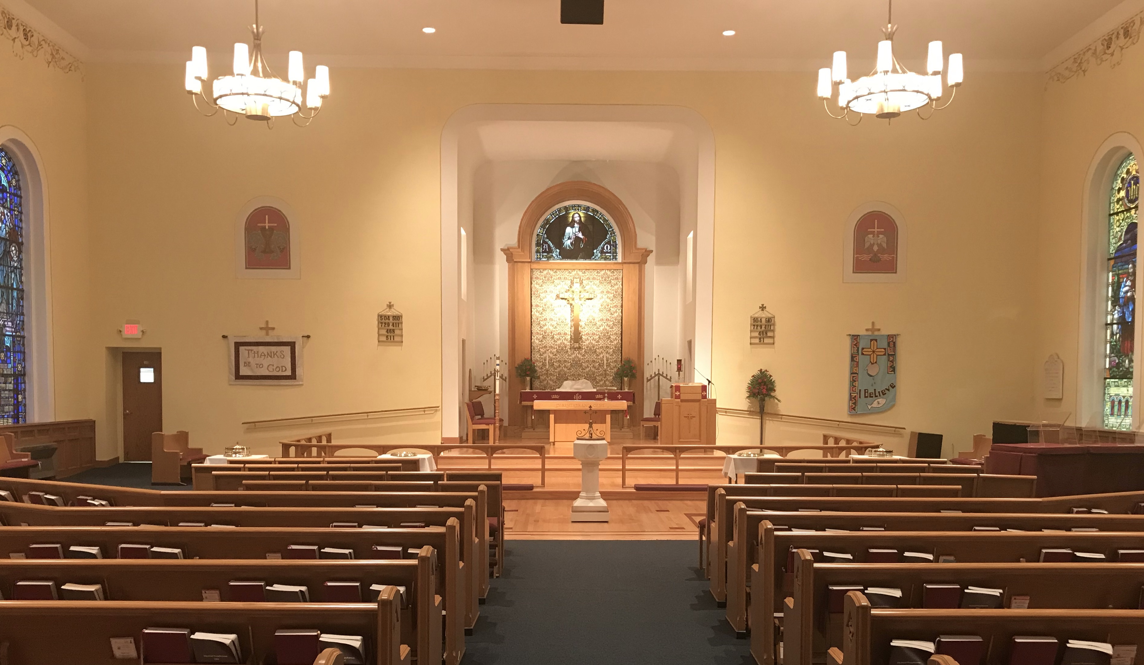 Contact Us at First Lutheran Church in Springfield, Ohio